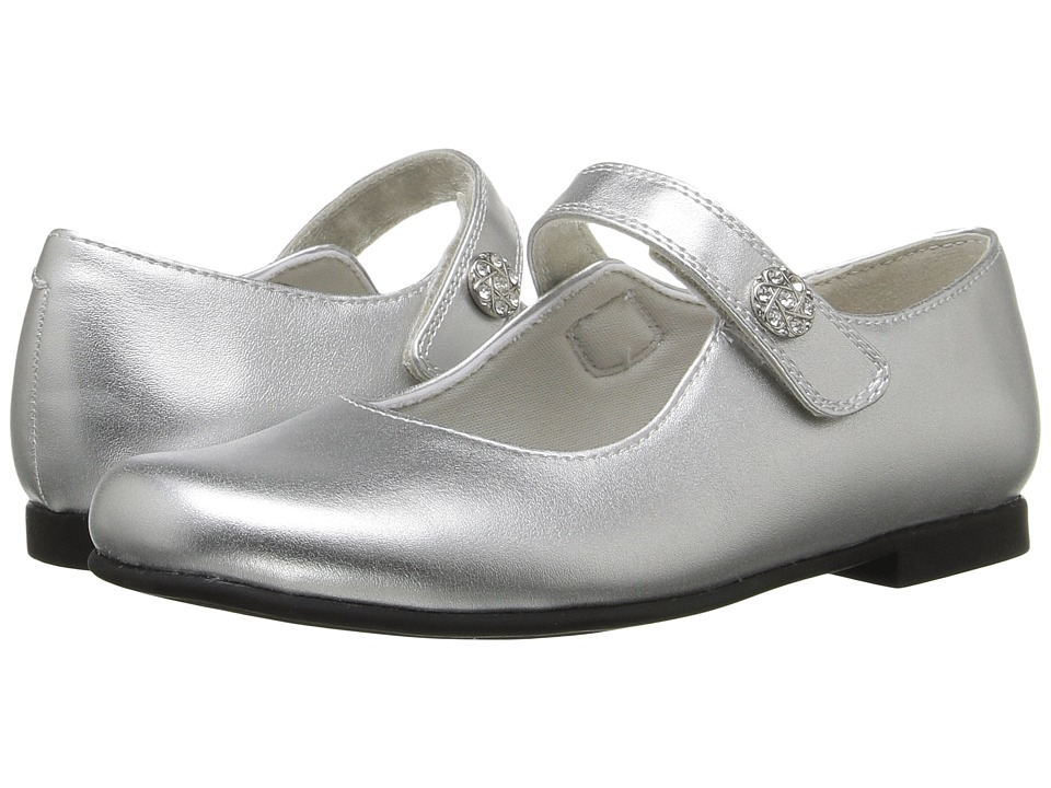 Rachel Kids - Jackie (Little Kid) (Silver Metallic) Girls Shoes