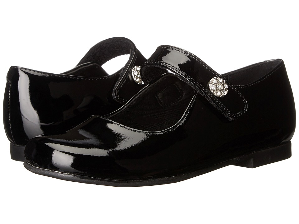 Rachel Kids - Jackie (Little Kid) (Black Patent) Girls Shoes