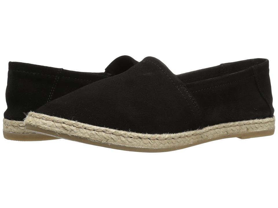 Miz Mooz - Amaze (Black Suede) Women's Slip on Shoes