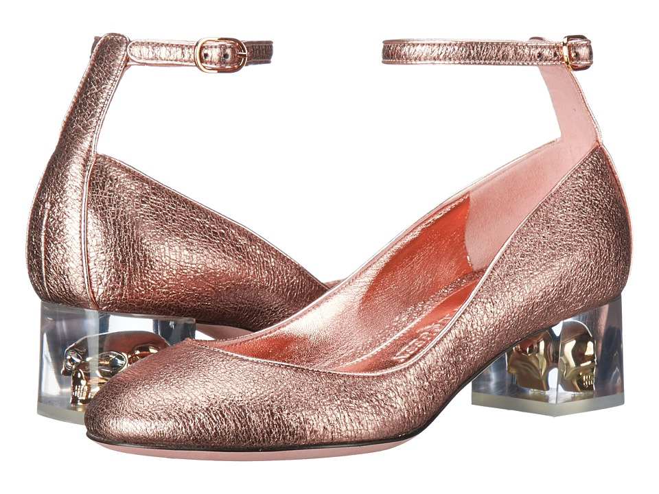 Alexander McQueen - Scarpa Pelle S.Cuoio (Boudoir/Boudoir) High Heels