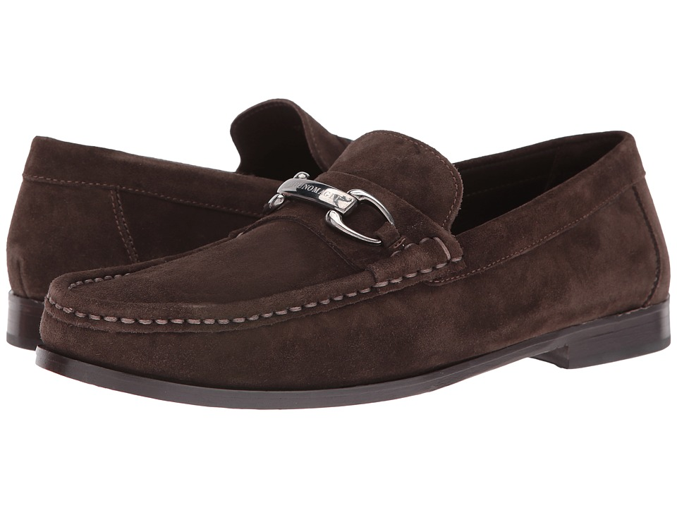 Bruno Magli Townsend (Dark Brown Suede) Men