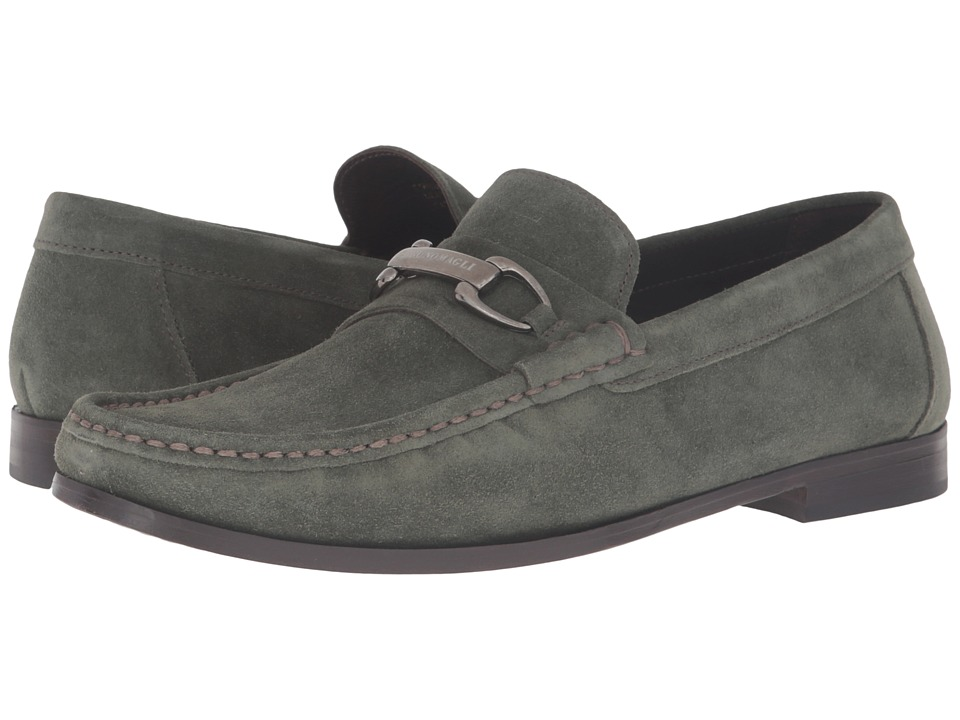 Bruno Magli - Townsend (Olive Suede) Men's Shoes