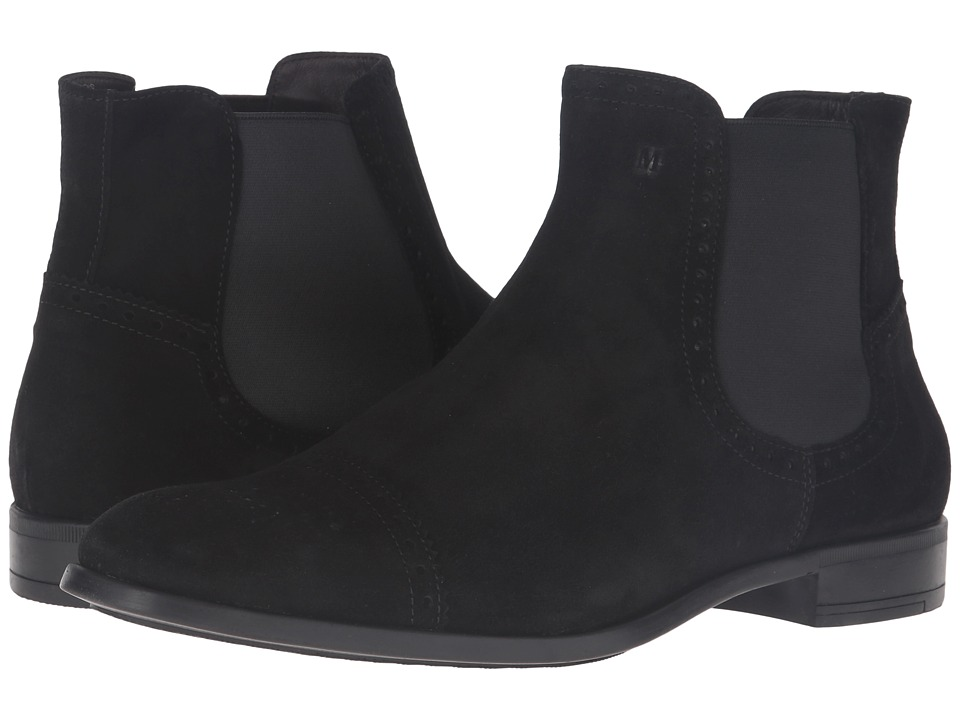 Bruno Magli Saltro (Black Suede) Men