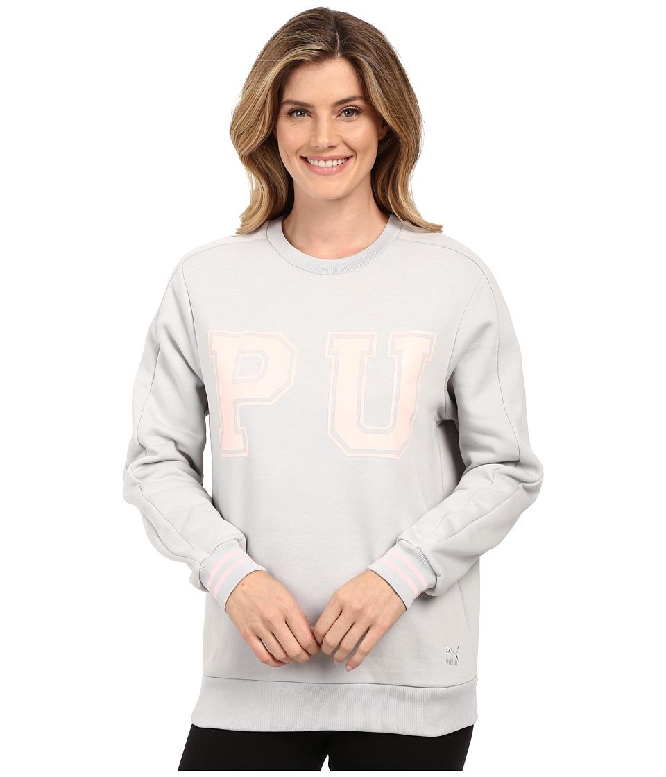 PUMA - Vashtie Crew Sweatshirt (High Rise) Women's Sweatshirt
