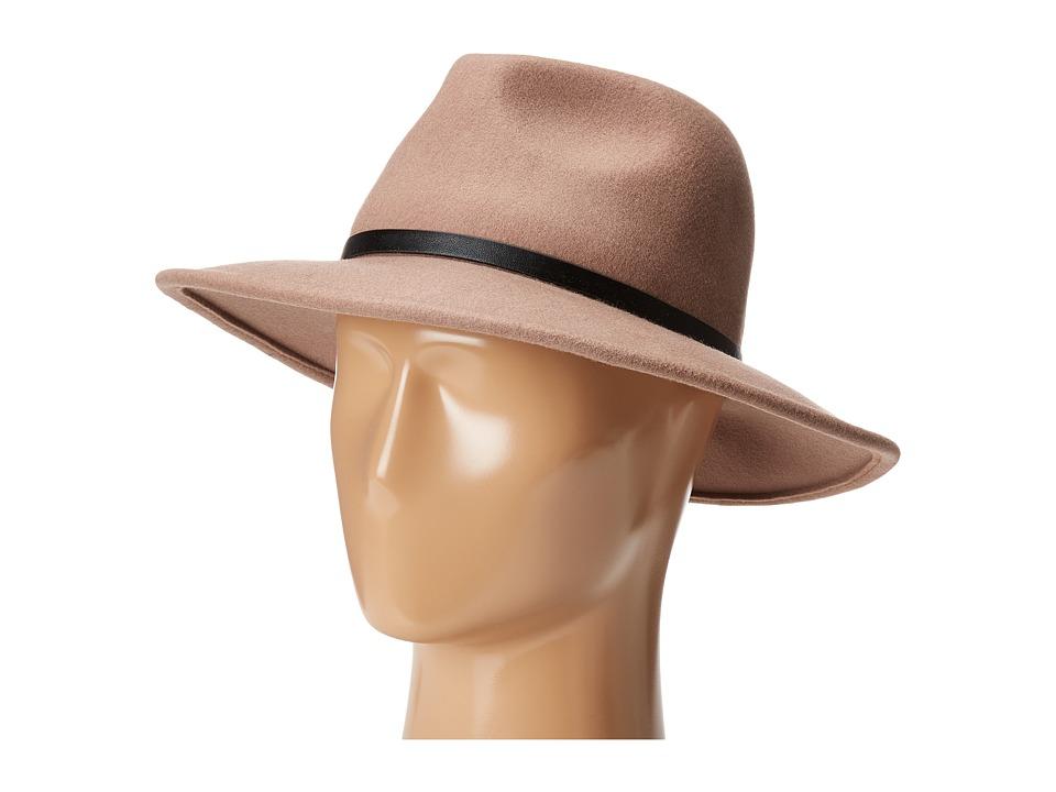 BCBGMAXAZRIA - Chained Panama Hat (Pumice) Bucket Caps
