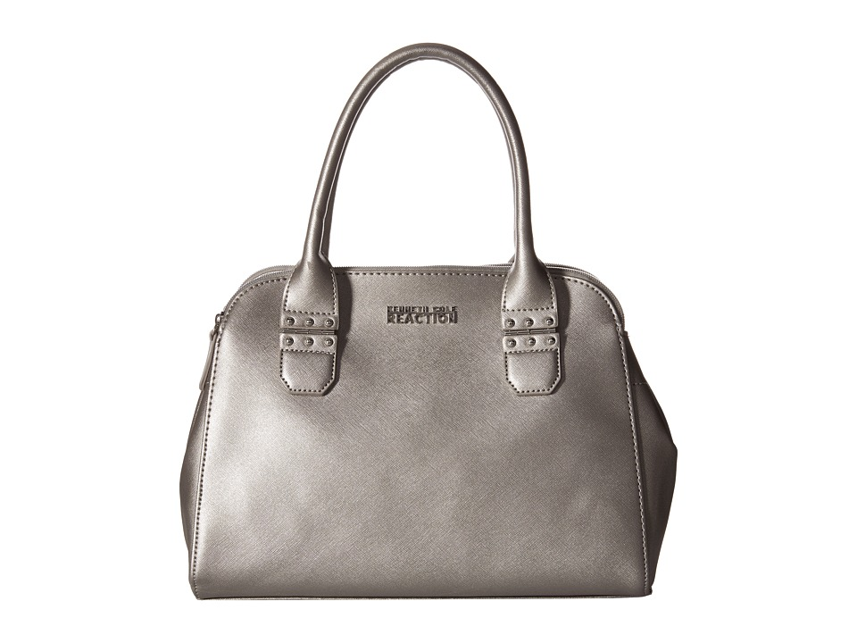 Kenneth Cole Reaction - Journey Satchel (Pearlized Silver) Satchel Handbags