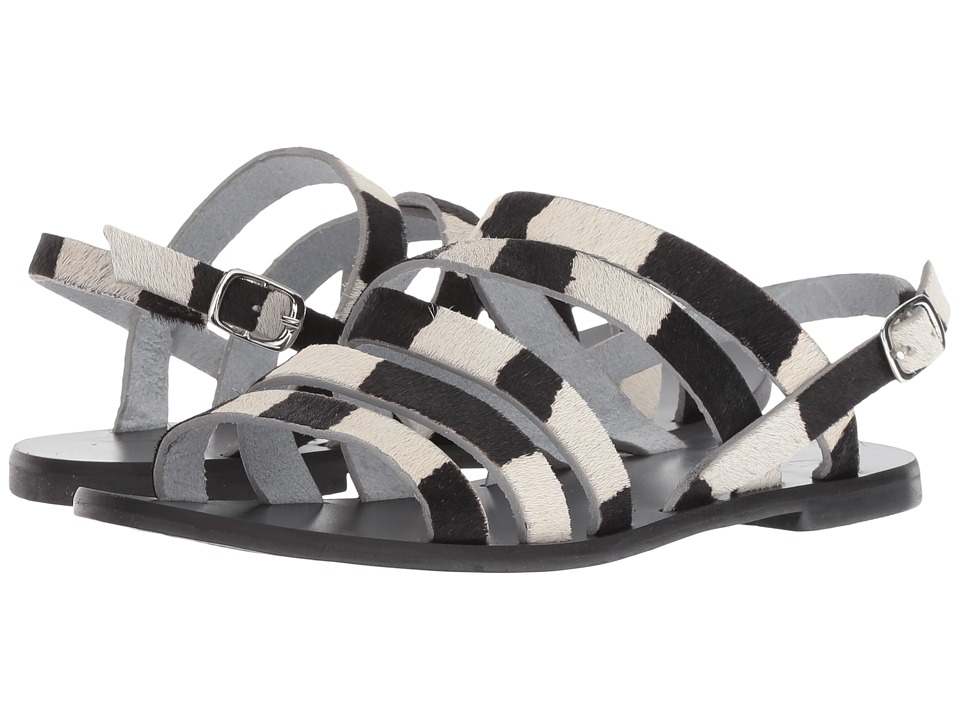 Warm Creature - Aurora (Black/Pony) Women's Sandals