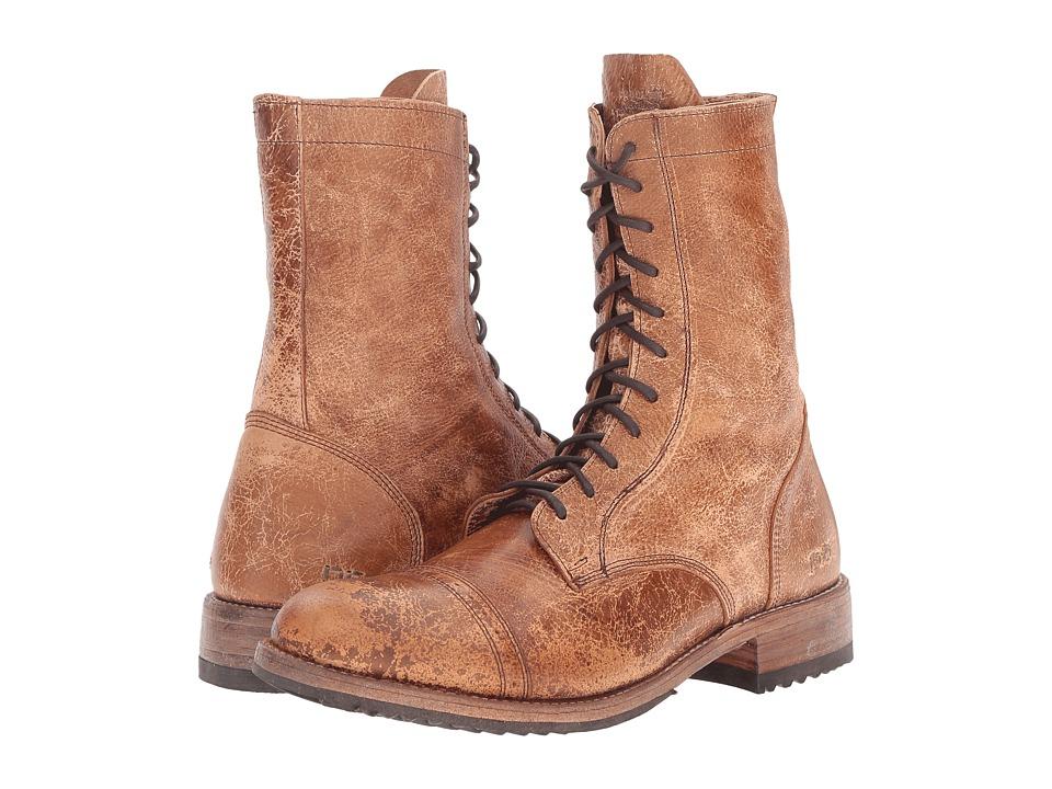 Bed Stu - Hendrix (Tan Lux Leather) Men's Zip Boots