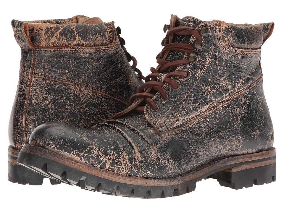 Bed Stu - Supersonic (Black Lux Leather) Men's Shoes