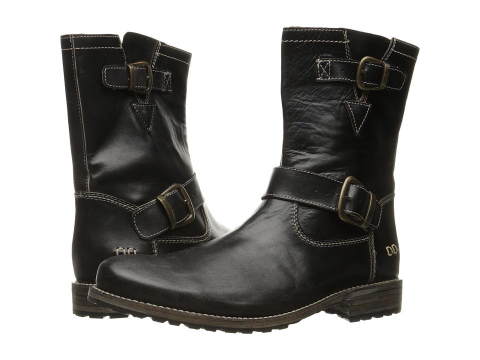 Bed Stu - Ashton (Black Driftwood Leather) Men's Shoes
