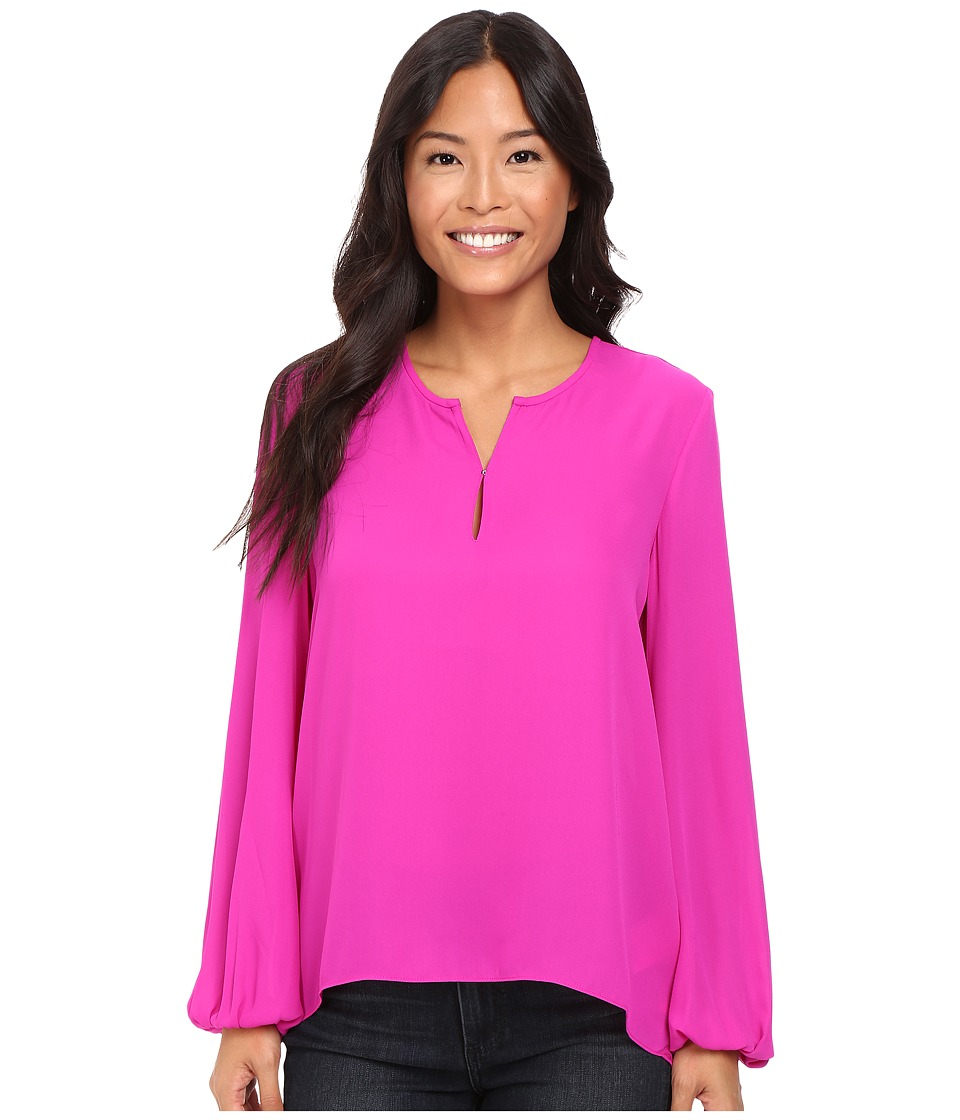 Ellen Tracy - Bishop Sleeve Blouse (Rosette) Women's Blouse