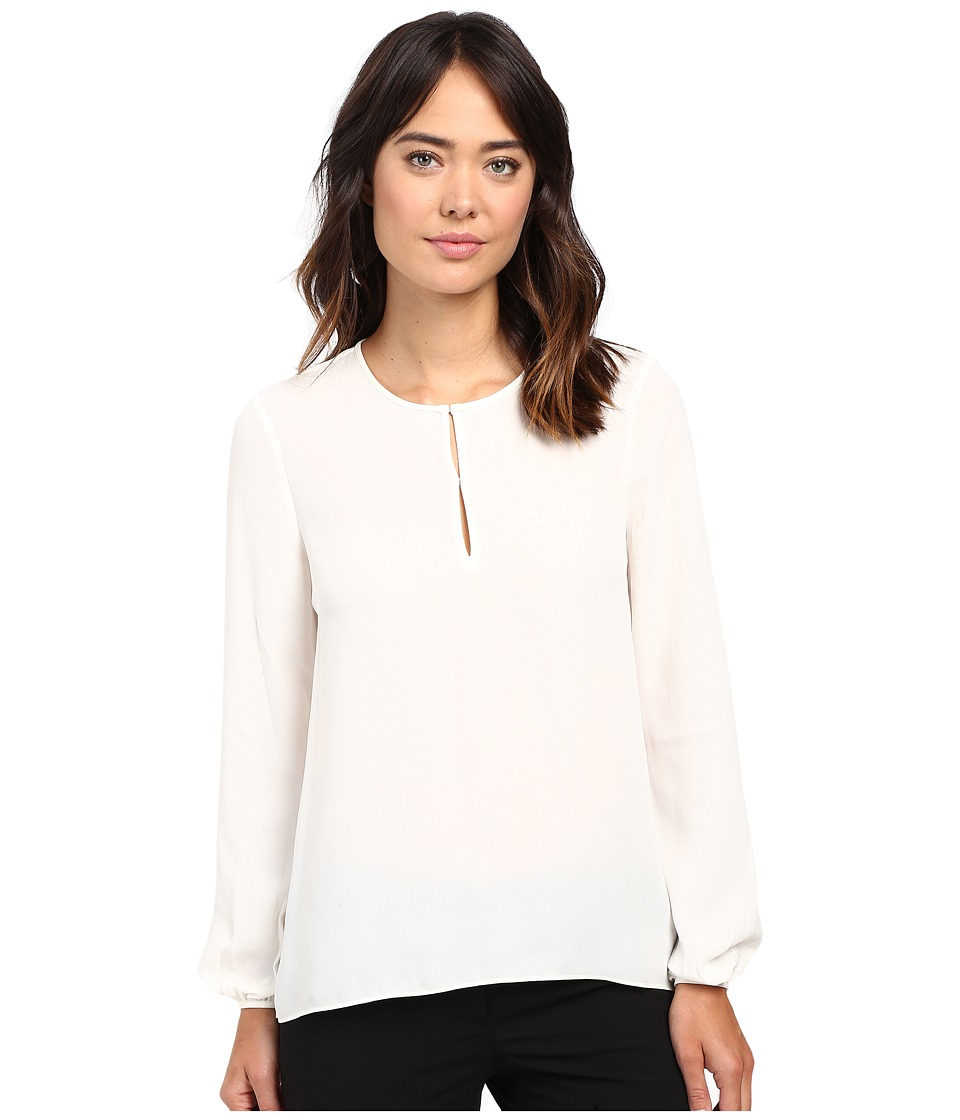 Ellen Tracy - Bishop Sleeve Blouse (Cream) Women's Blouse