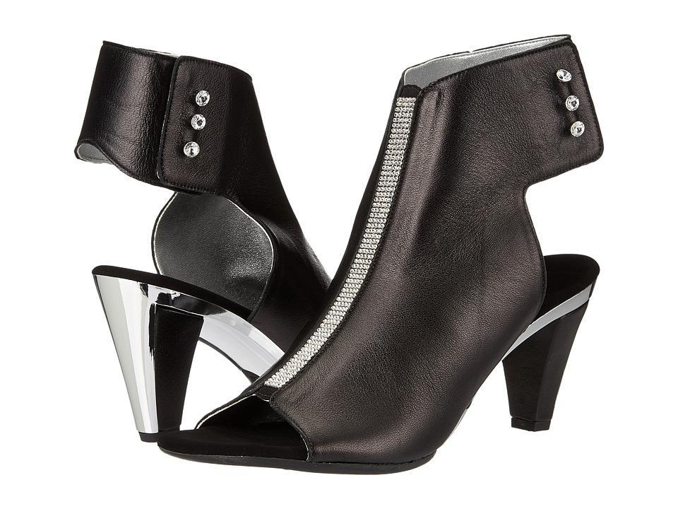 Onex - Tux (Black/Silver) High Heels