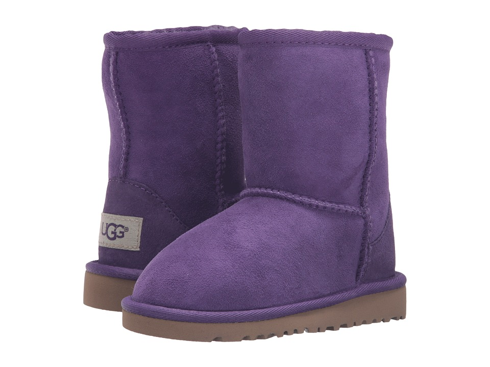 UGG Kids - Classic (Toddler/Little Kid) (Electric Purple) Girls Shoes