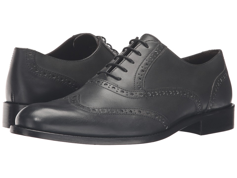 Bruno Magli - Alvar (Dark Grey) Men's Shoes