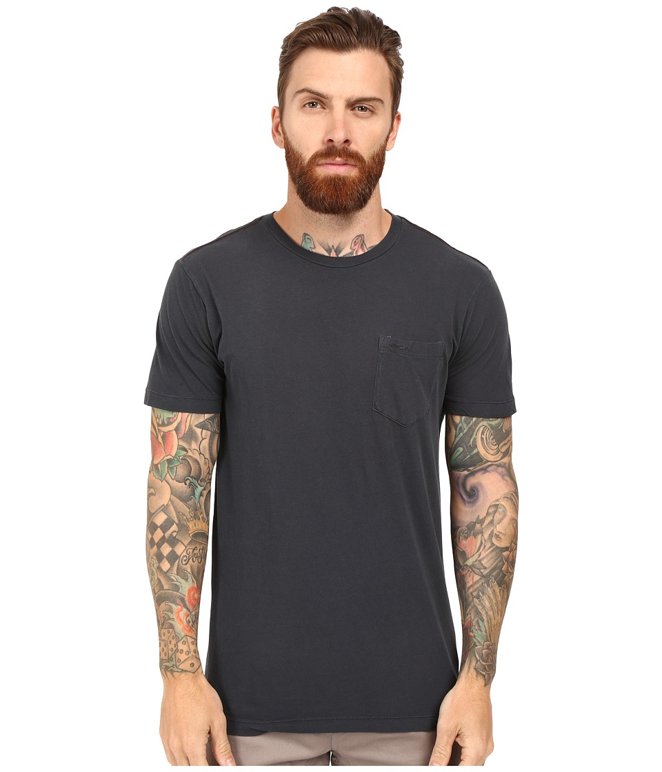 RVCA - PTC 2 Pigment Knit Tee (Carbon) Men's T Shirt