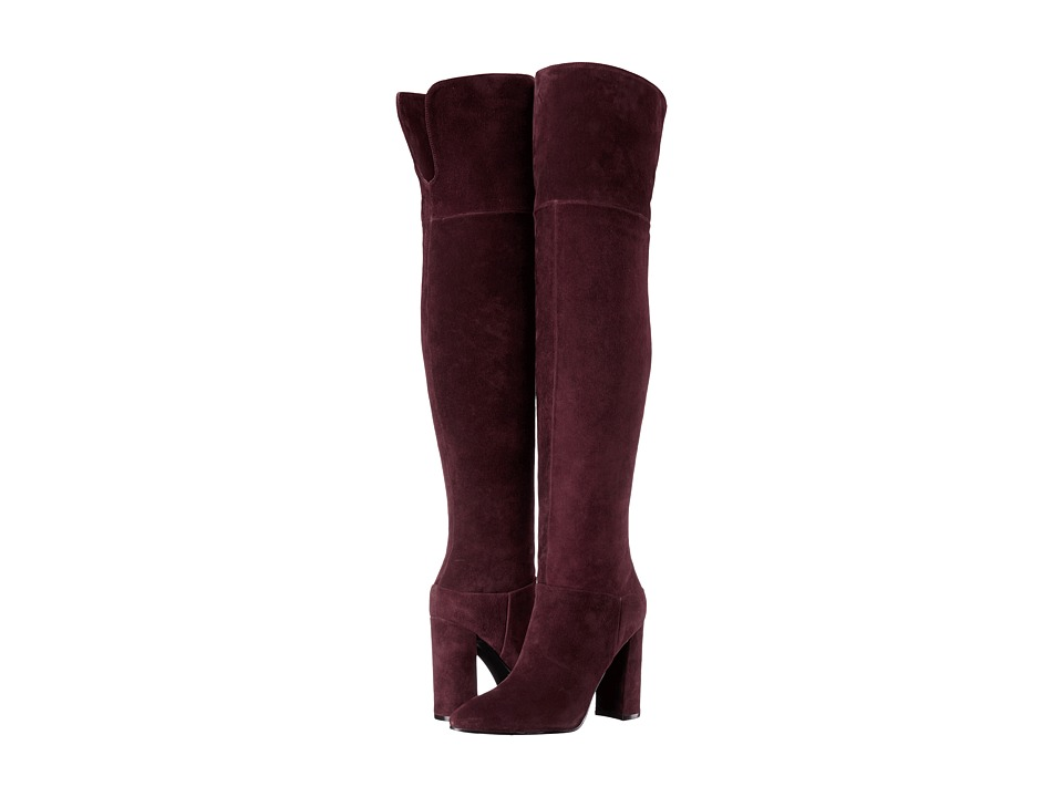 Marc Fisher LTD - Breley (Burgandy Suede) Women's Shoes
