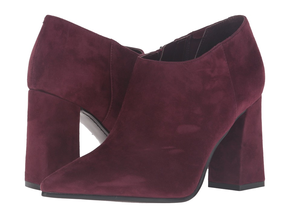 Marc Fisher LTD Jayla Burgundy Suede Womens Shoes