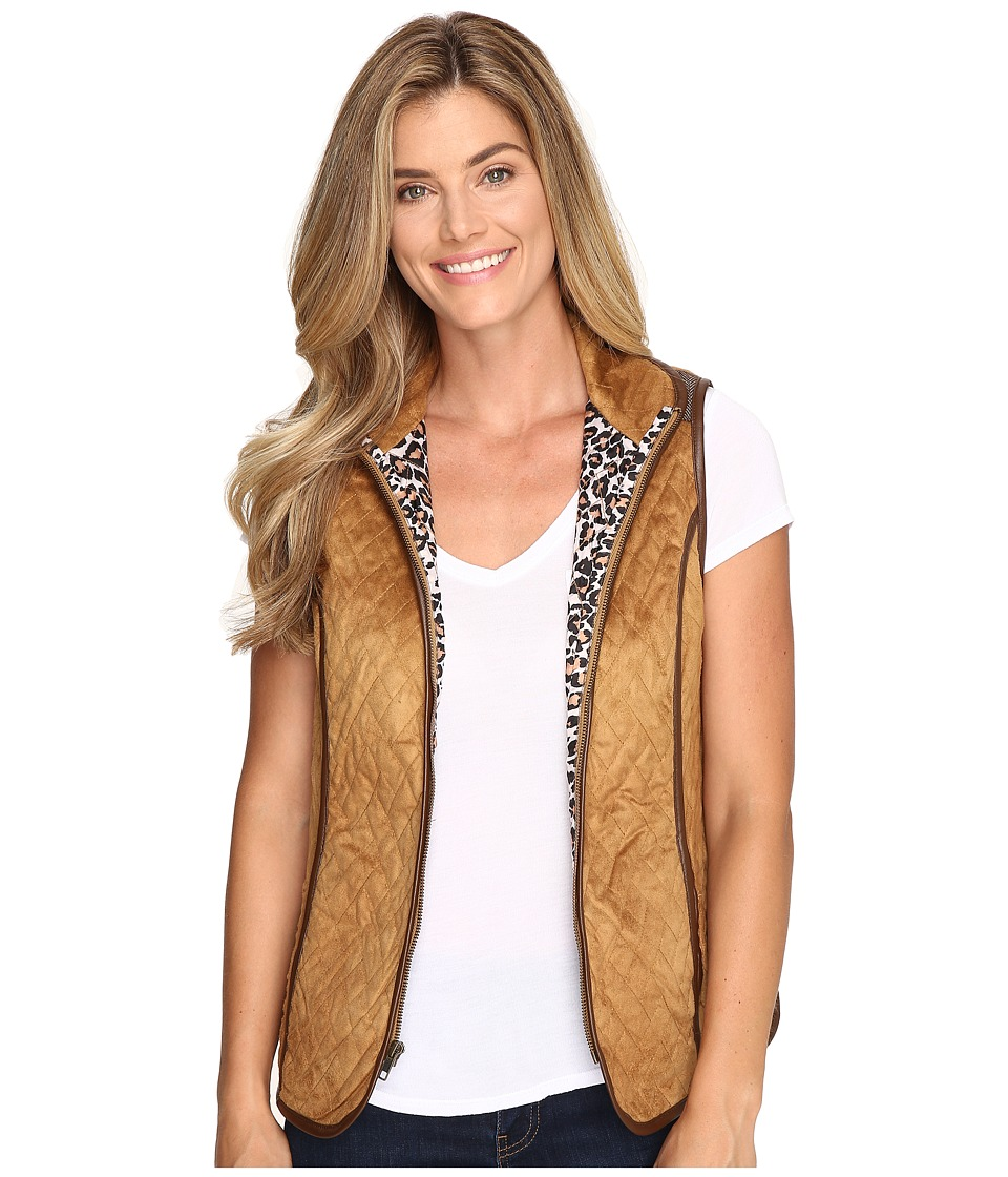 Tasha Polizzi - Riding Club Vest (Camel) Women's Vest
