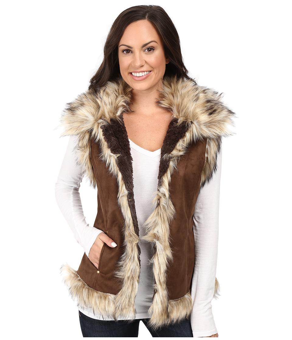 Tasha Polizzi - Luxe Vest (Walnut Brown) Women's Vest