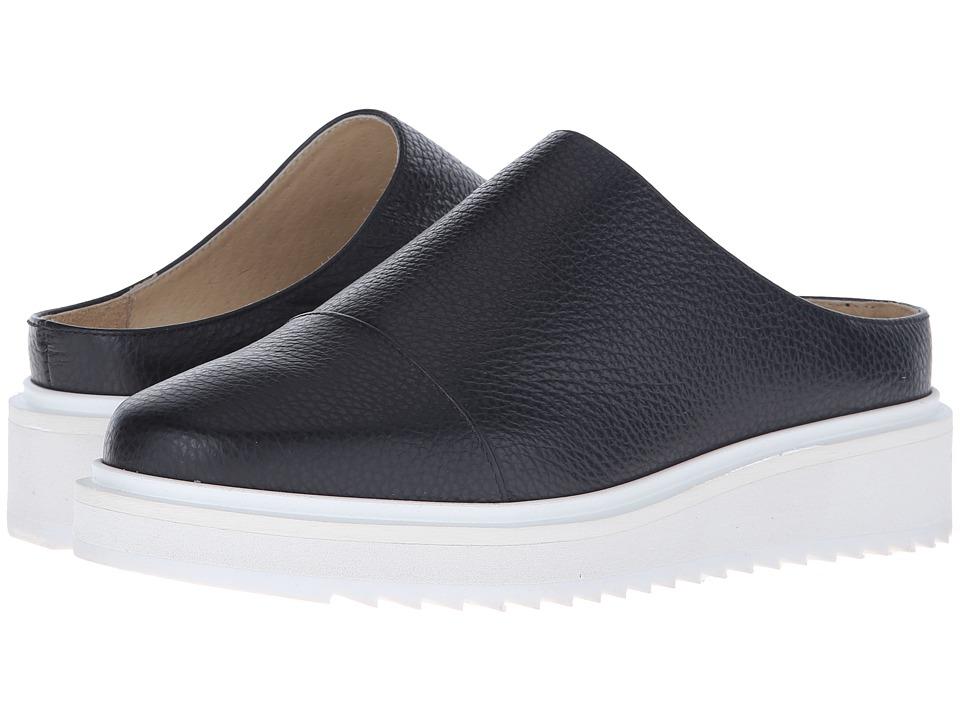 CLAETYN WOOD - Soto (Black Tumbled Kid/Smooth Calf) Women's Shoes