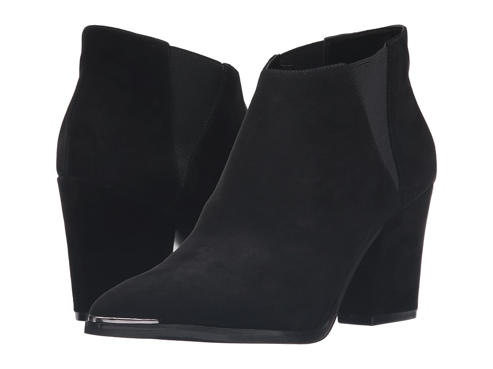 Marc Fisher LTD - Leene (Black Suede) Women's Shoes