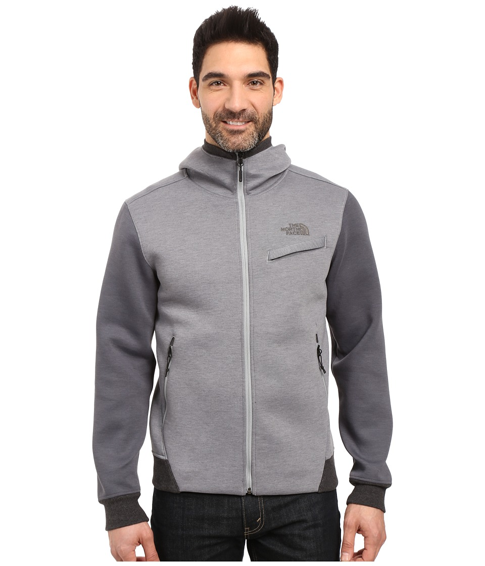 The North Face Thermal 3D Full Zip Hoodie (TNF Medium Grey Heather) Men