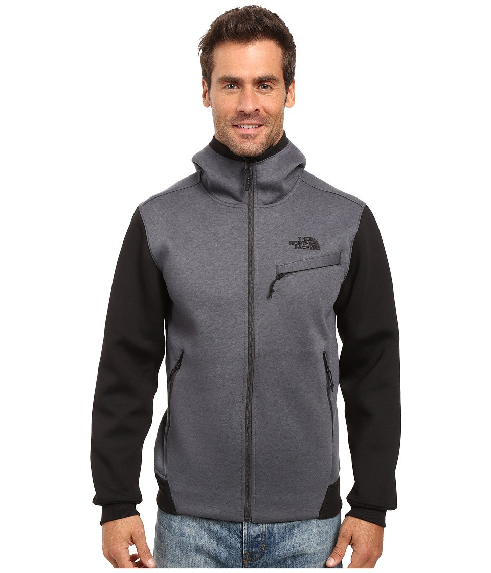 The North Face Thermal 3D Full Zip Hoodie (TNF Dark Grey Heather) Men