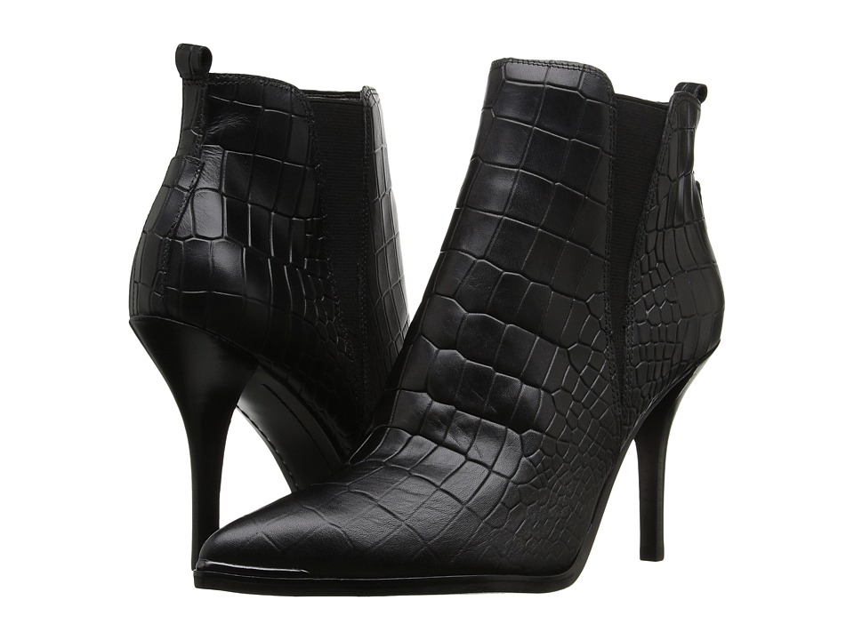 Marc Fisher LTD - Vilma (Black Croc) Women's Shoes