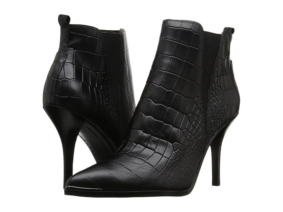 Marc Fisher LTD Vilma (Black Croc) Women