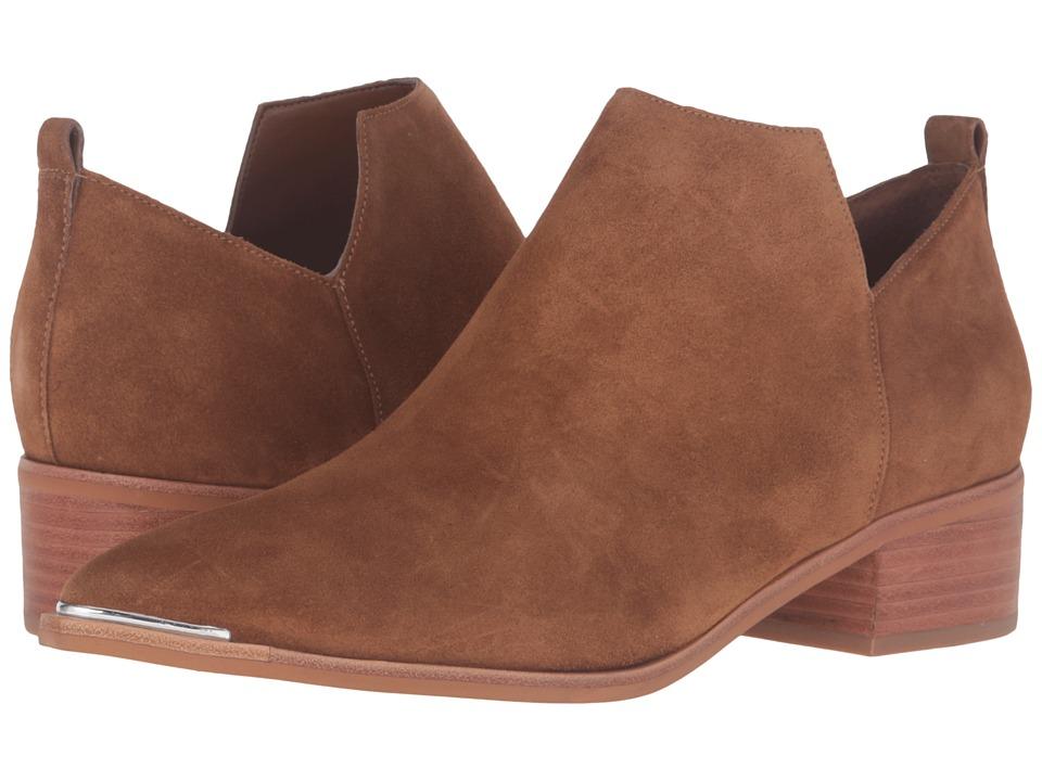 Marc Fisher LTD - Yamir (Cognac Suede) Women's Shoes