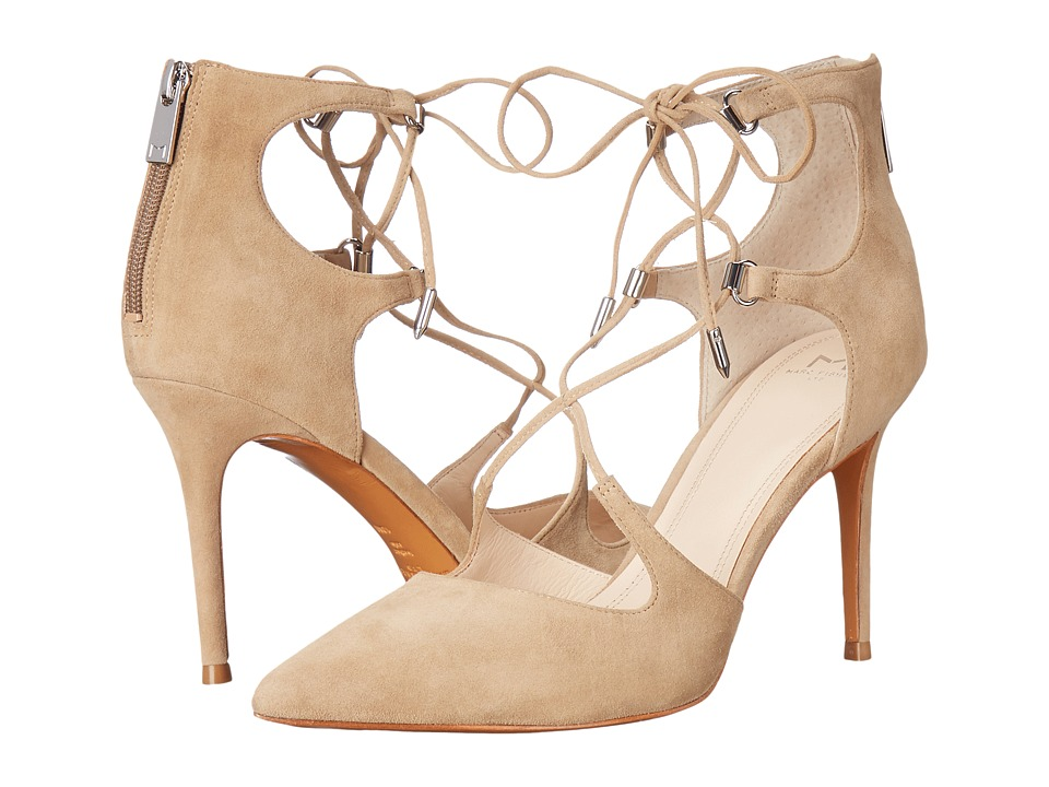 Marc Fisher LTD - Toni (Tan Suede) High Heels
