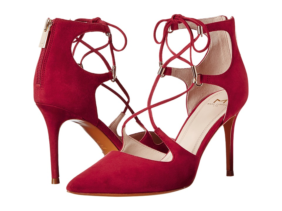 Marc Fisher LTD - Toni (Burgundy Suede) High Heels