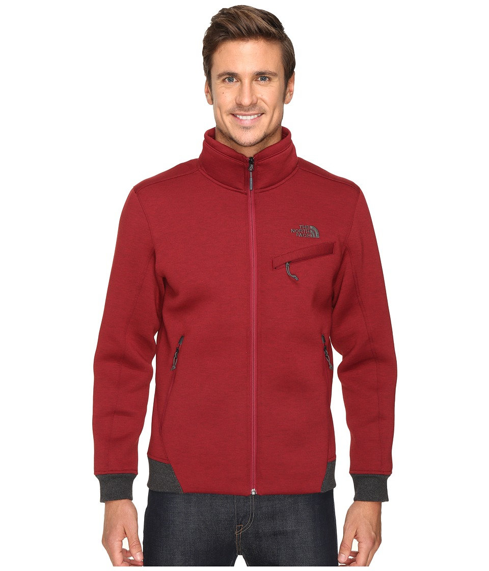 The North Face - Thermal 3D Jacket (Biking Red/Black Heather (Prior Season)) Men's Coat