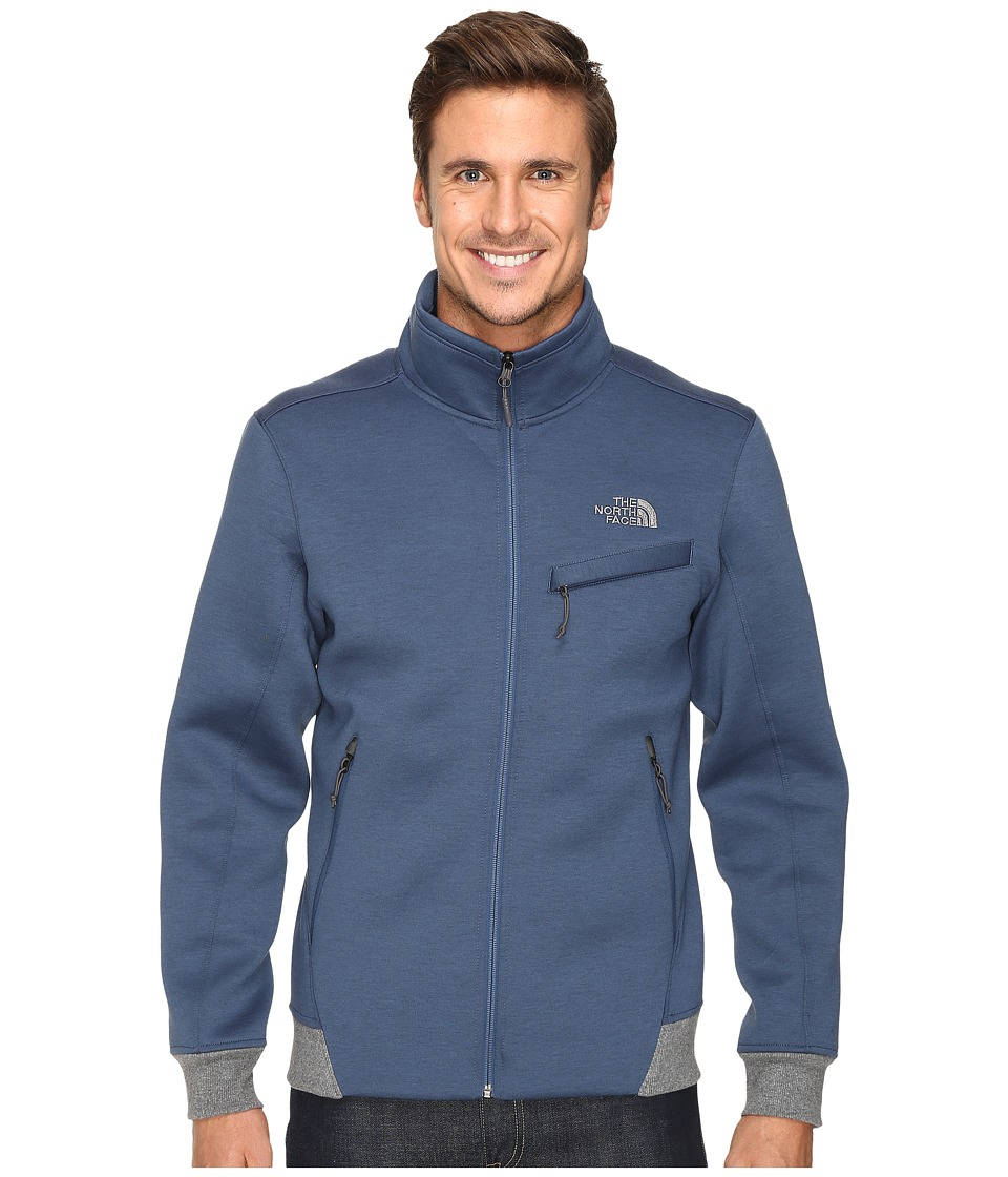 The North Face - Thermal 3D Jacket (Shady Blue/Black Heather) Men's Coat