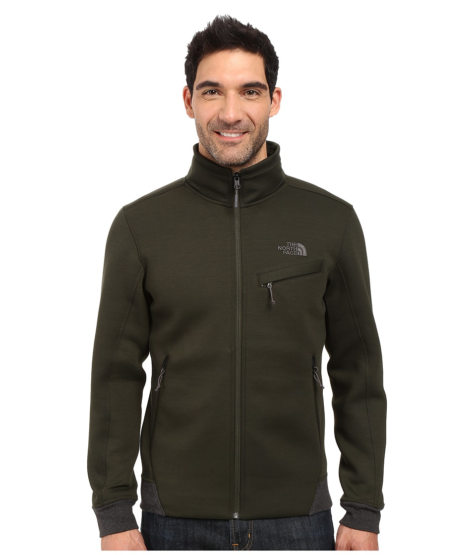 The North Face - Thermal 3D Jacket (Rosin Green/Black Heather) Men's Coat