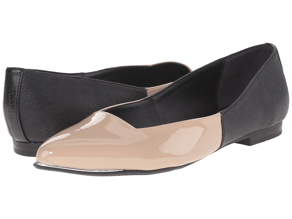 Circus by Sam Edelman - Ellissa (Black/Tan Man-Made Upper) Women's Shoes