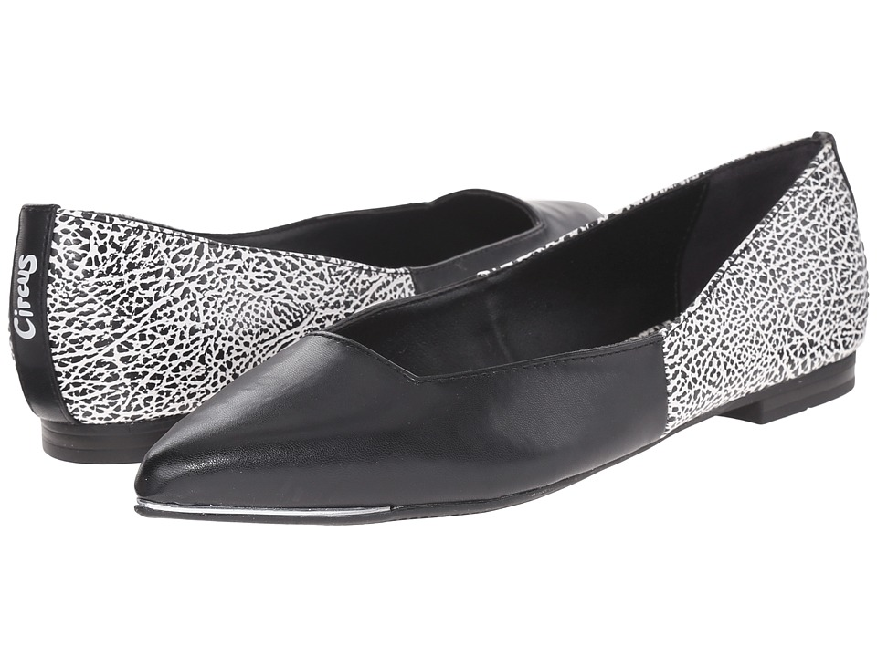 Circus by Sam Edelman - Ellissa (Black/White Man-Made Upper) Women's Shoes
