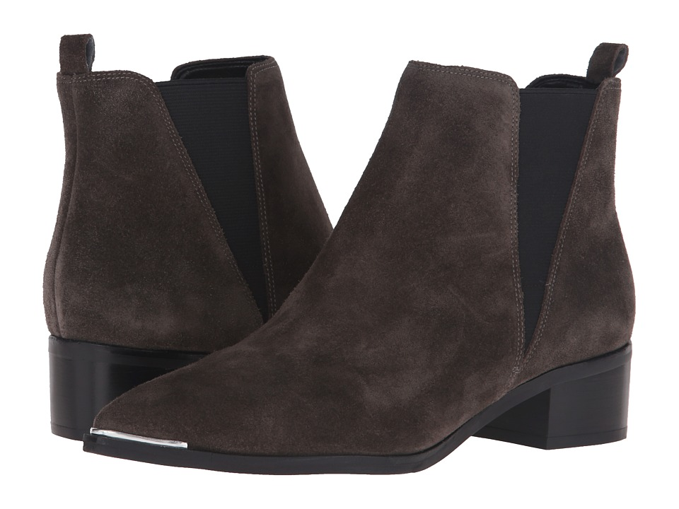Marc Fisher LTD - Yale (Grey Suede) Women's Dress Pull-on Boots