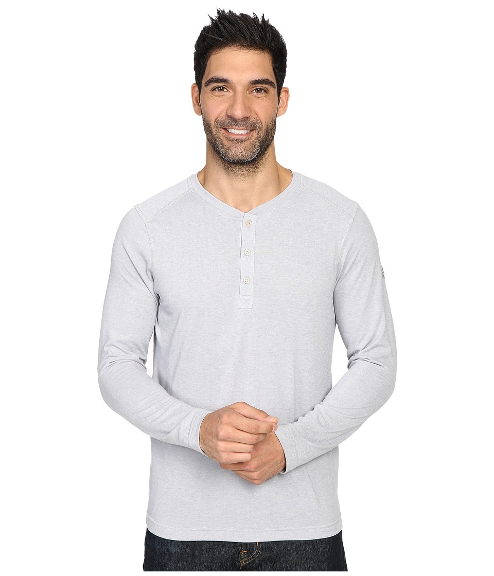 The North Face - Long Sleeve Crag Henley (TNF Light Grey Heather) Men's Clothing