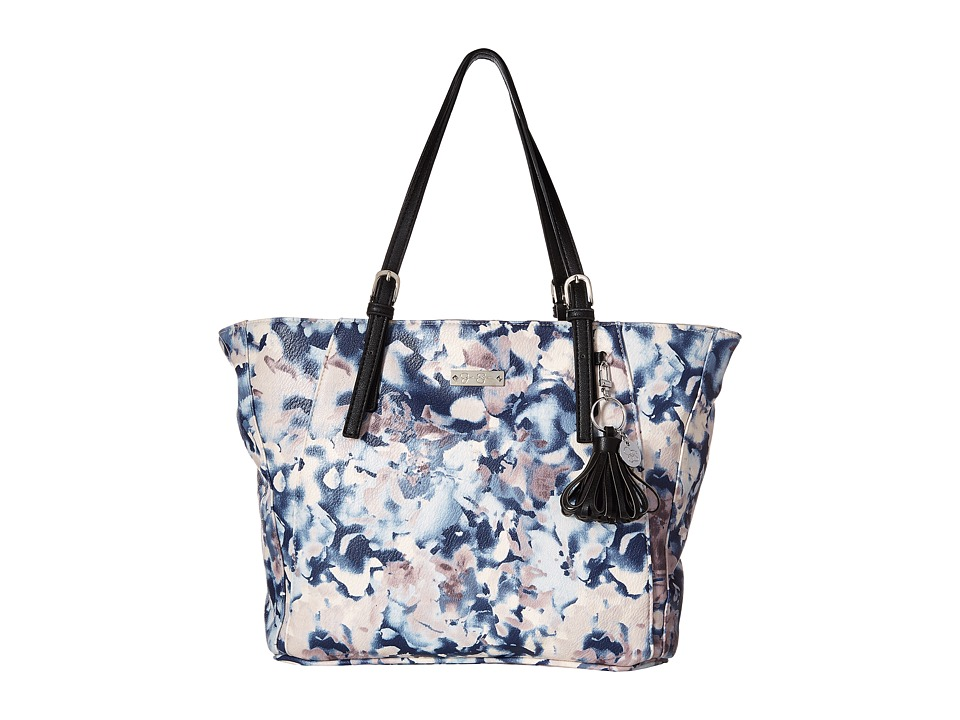 Jessica Simpson - Cynthia Tote (Nora Floral Print/Black) Tote Handbags