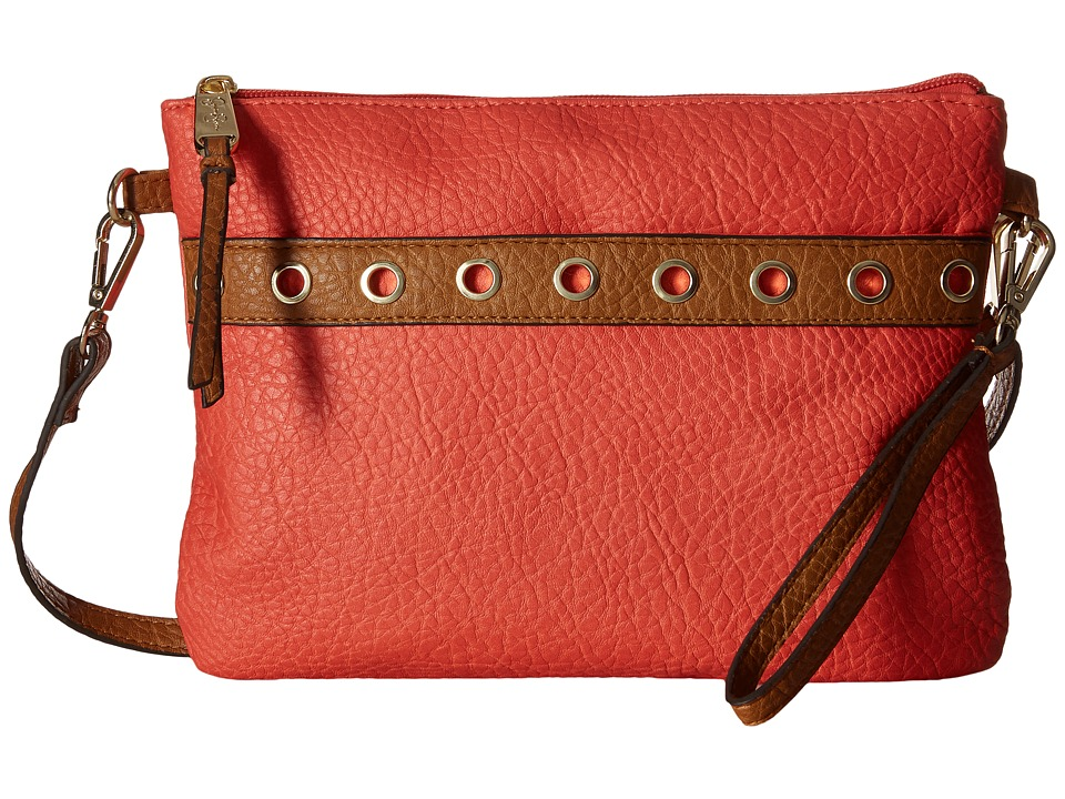 Jessica Simpson - Sutton Crossbody (Cayenne/Cognac) Cross Body Handbags