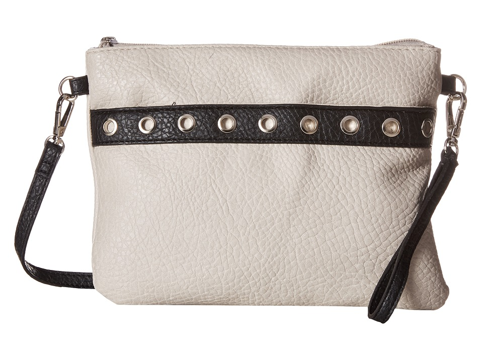 Jessica Simpson - Sutton Crossbody (Cloud Grey/Black) Cross Body Handbags