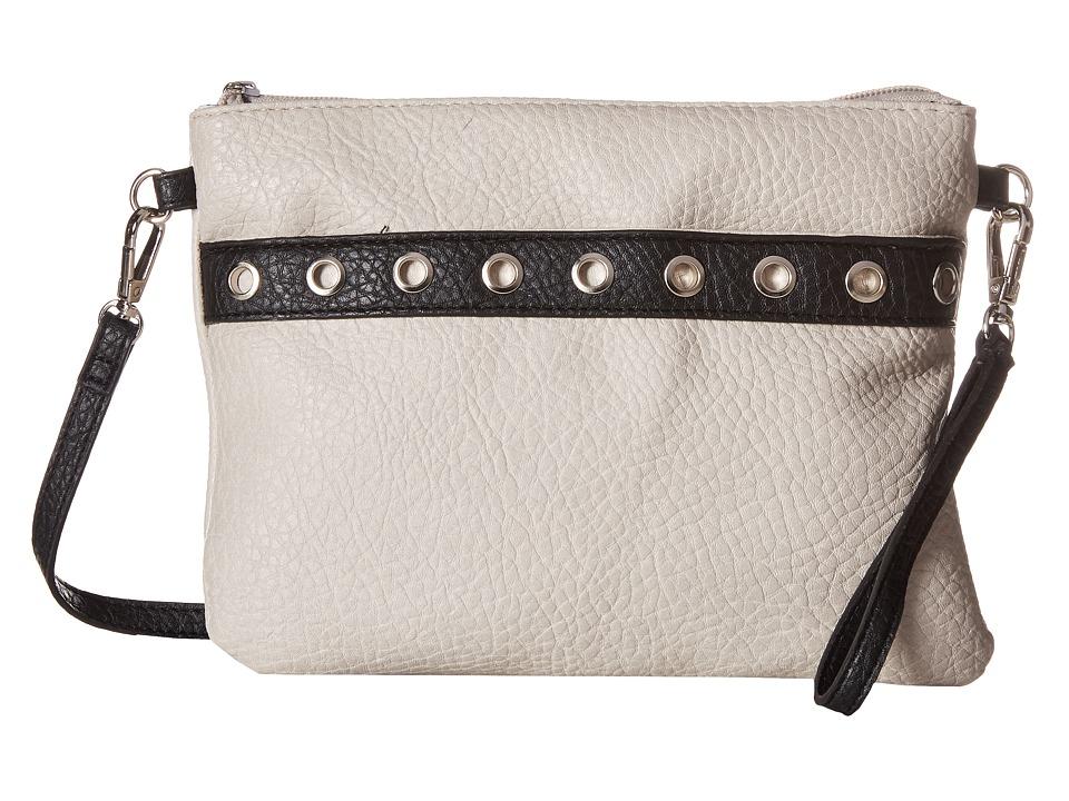 Jessica Simpson - Sutton Crossbody (Cloud Grey/Black) Cross Body Handbags