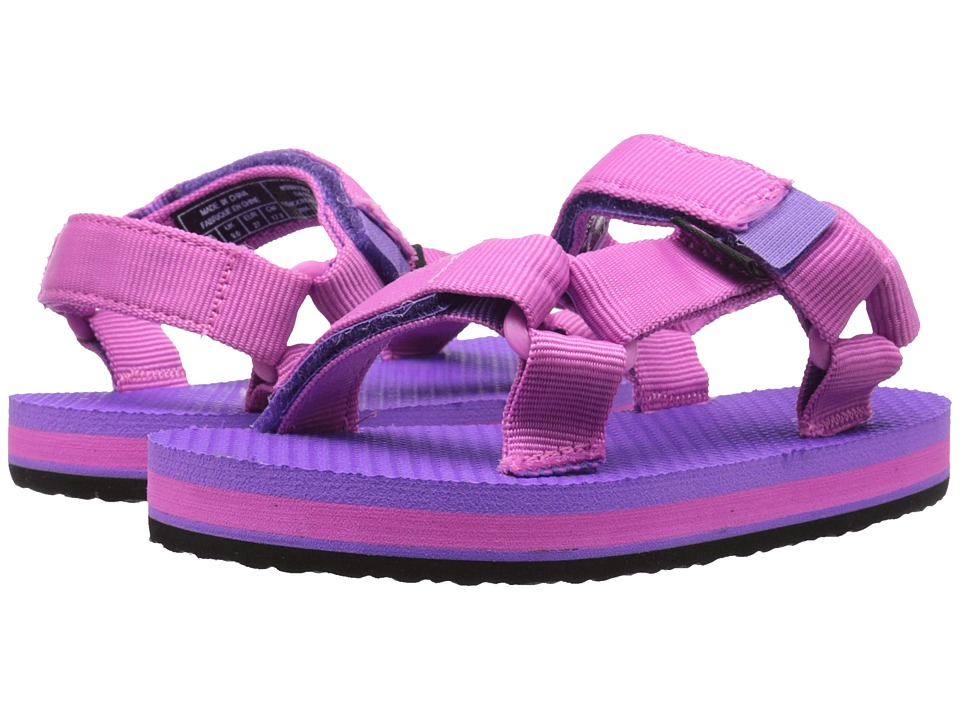Teva Kids - Original Universal (Toddler/Little Kid) (Pink/Purple) Girl's Shoes