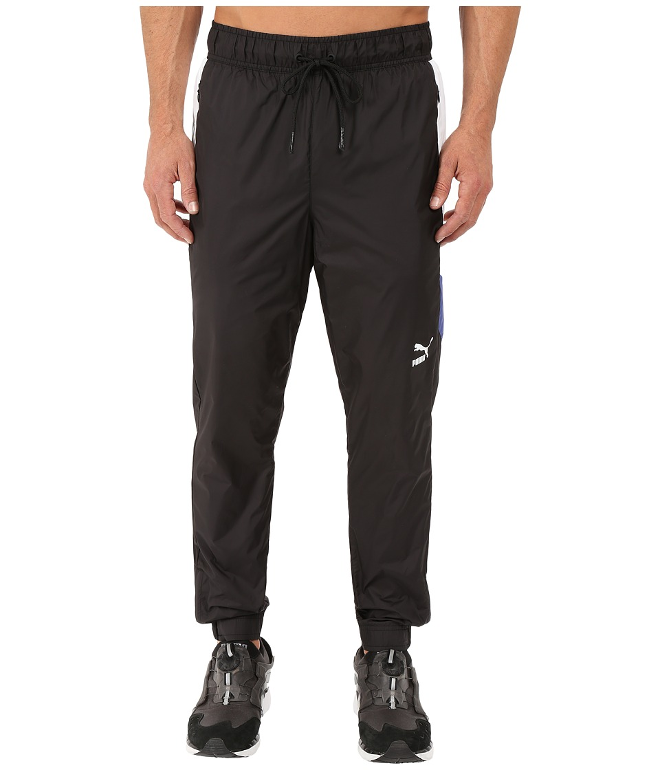 PUMA - Give and Go Pants (Black/White/Surf The Web) Men's Casual Pants