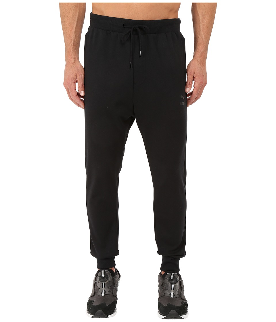 PUMA - T7 Track Pants (Black) Men's Casual Pants