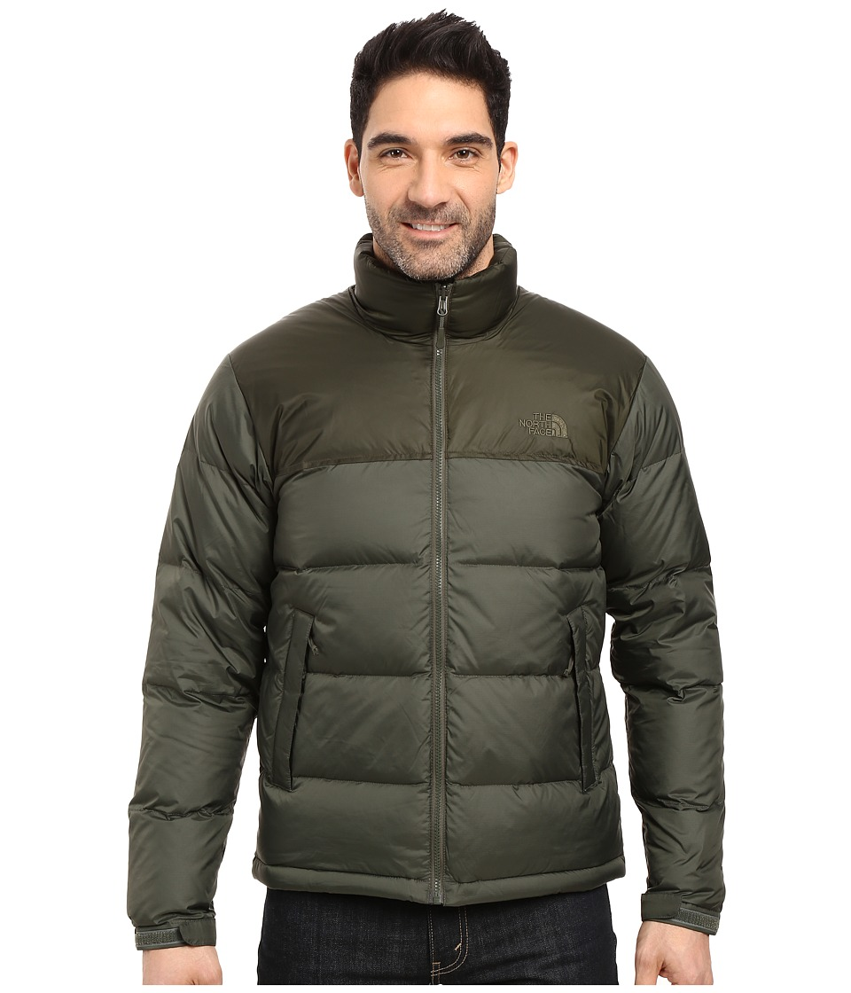 The North Face - Nuptse Jacket (Climbing Ivy Green/Rosin Green) Men's Coat