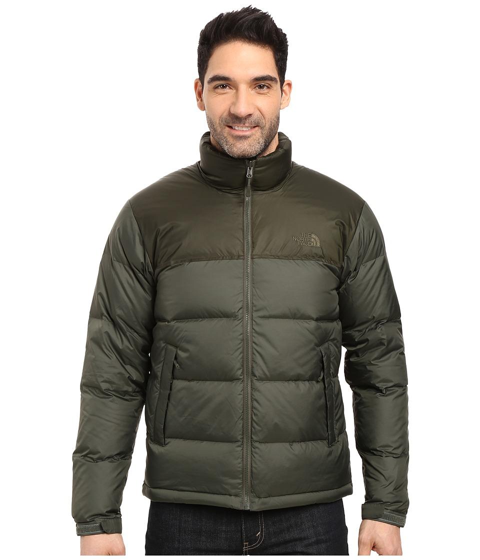 The North Face - Nuptse Jacket (Climbing Ivy Green/Rosin Green (Prior Season)) Men's Coat