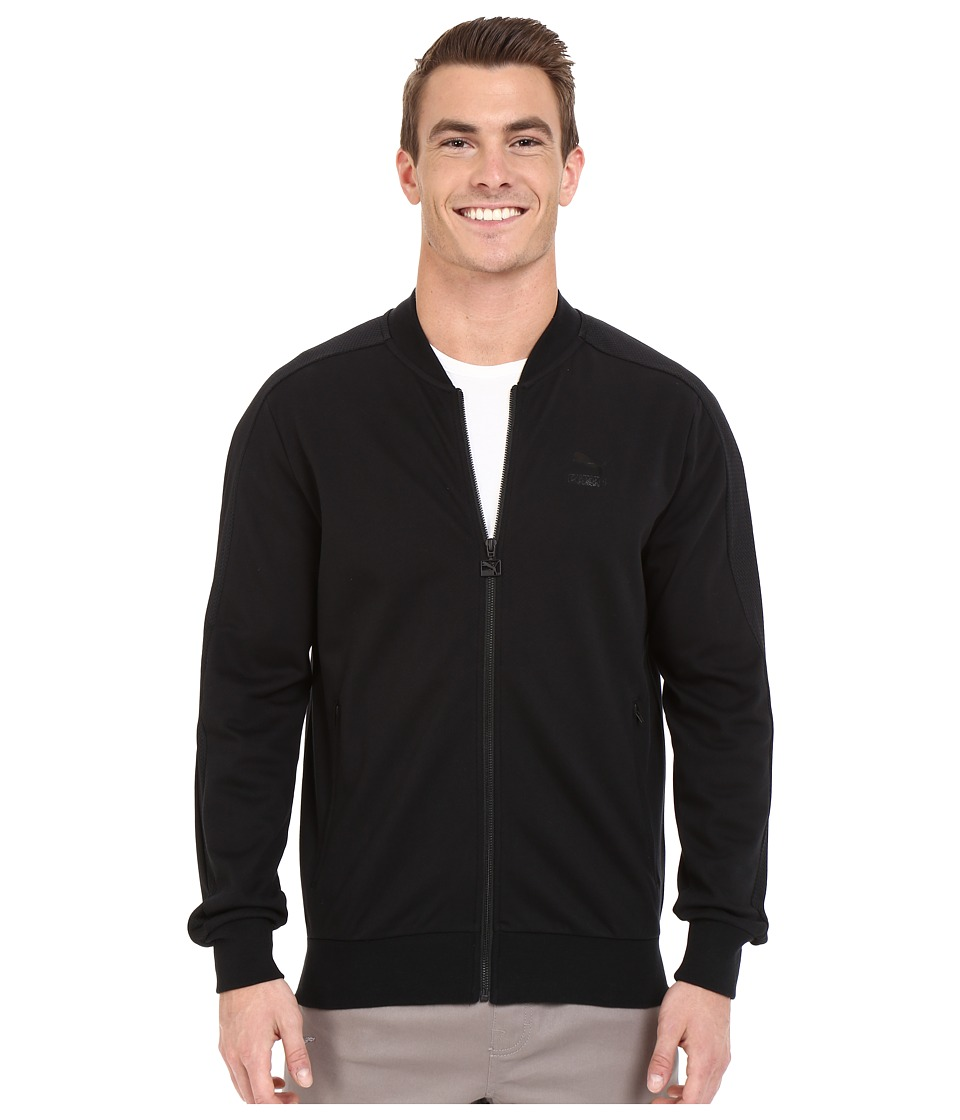PUMA - T7 Bomber Jacket (Black) Men's Coat